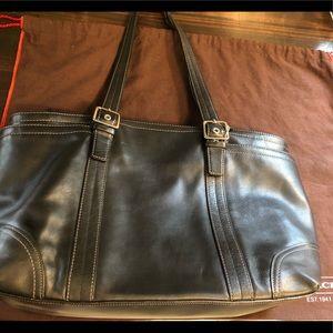 Coach XL multifunction diaper bag/handbag